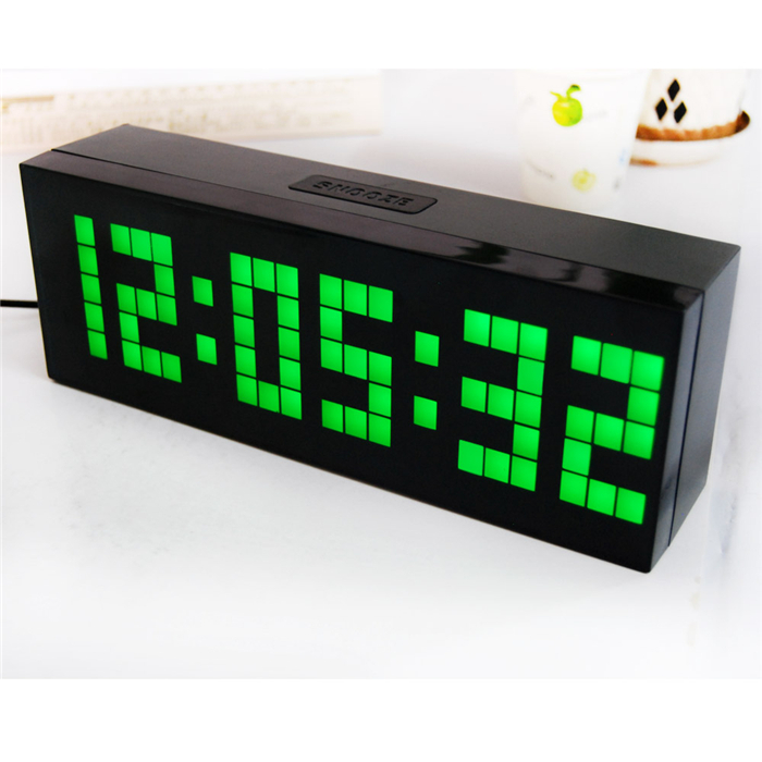 Digital led alarm clock electric countdown timer wall desk Cool digital wall clock