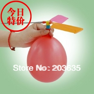 helicopter balloons for party wedding and children educational,10pcs/lot(China (Mainland))