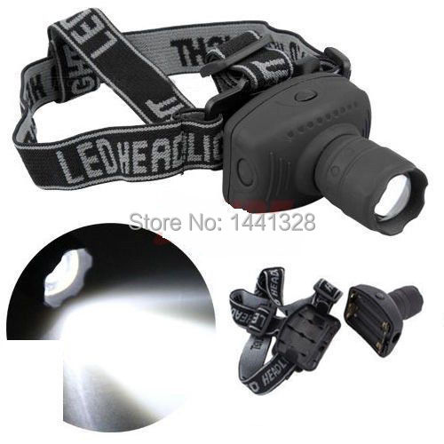CREE 500Lumen LED Headlamp Flashlight Frontal Lantern Durable Zoomable Head Torch Light Bike Riding Lamp For Camping Hunting(China (Mainland))