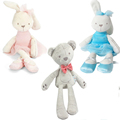 35cm Rabbit Soft Plush Toy Bunny Rabbit Baby Placate Toy Gifts for Girls Children s Christmas