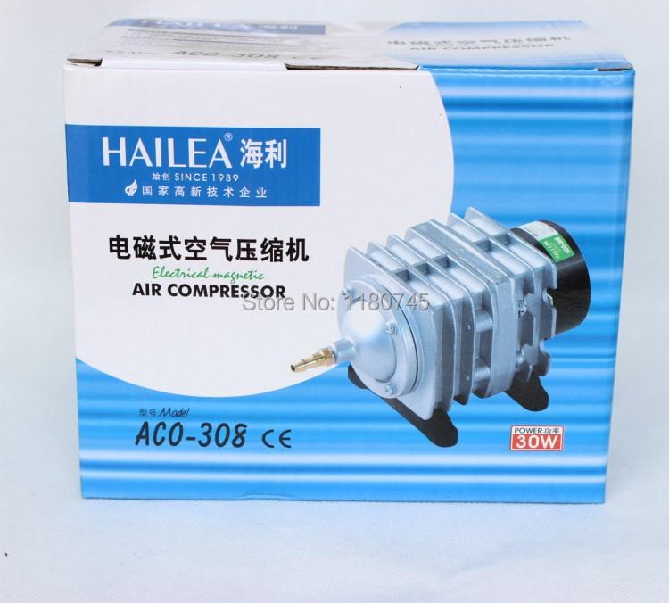 30w Hailea Aco 308 Electromagnetic Air Compressor Aquarium