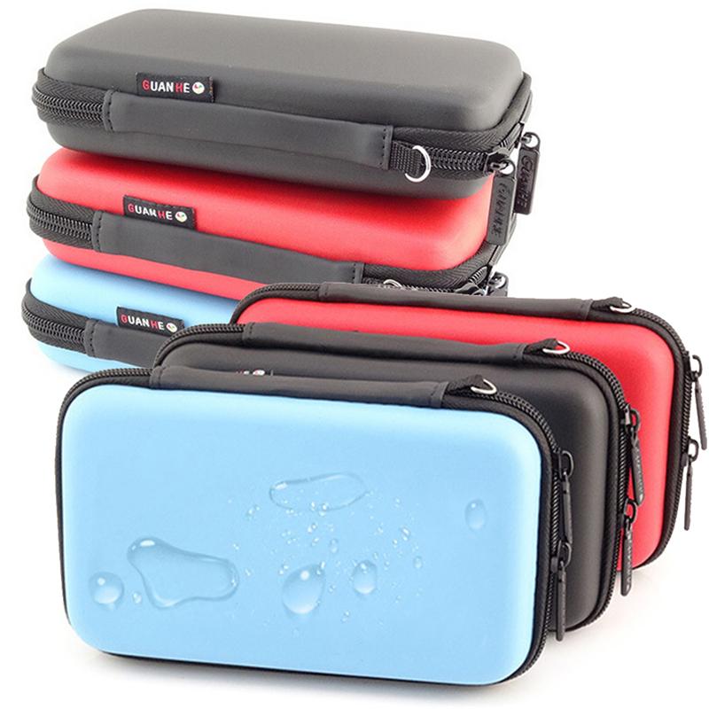 Storage Bag Organizer Waterproof USB Cable Hard Drive Earphone Flash Drives Digital Gadget Devices Organizador Bags Case 1PCS