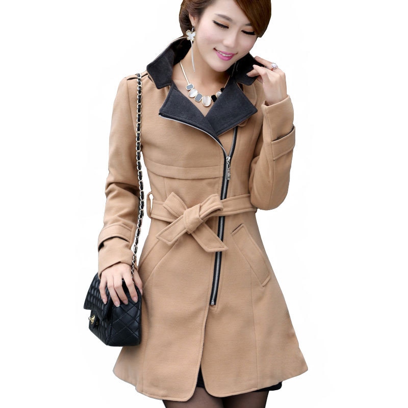 Long wool coat ladies – Modern fashion jacket photo blog