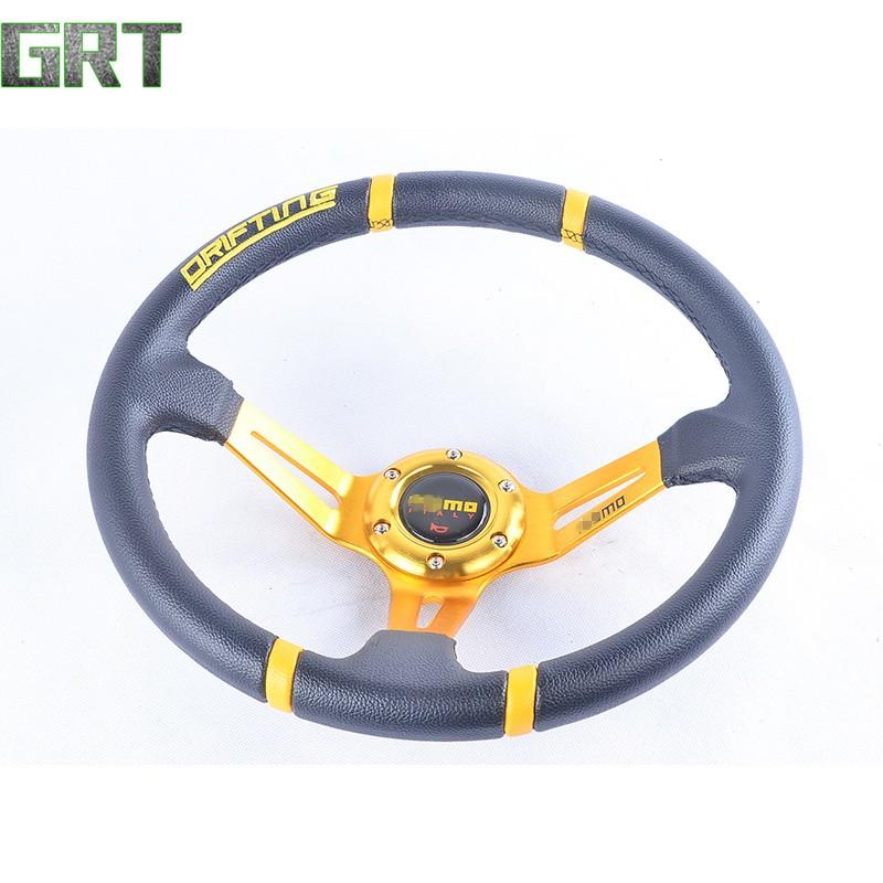 14 inches (Around 350mm) Racing Steering Wheel Drifting PVC - li.sa li's store