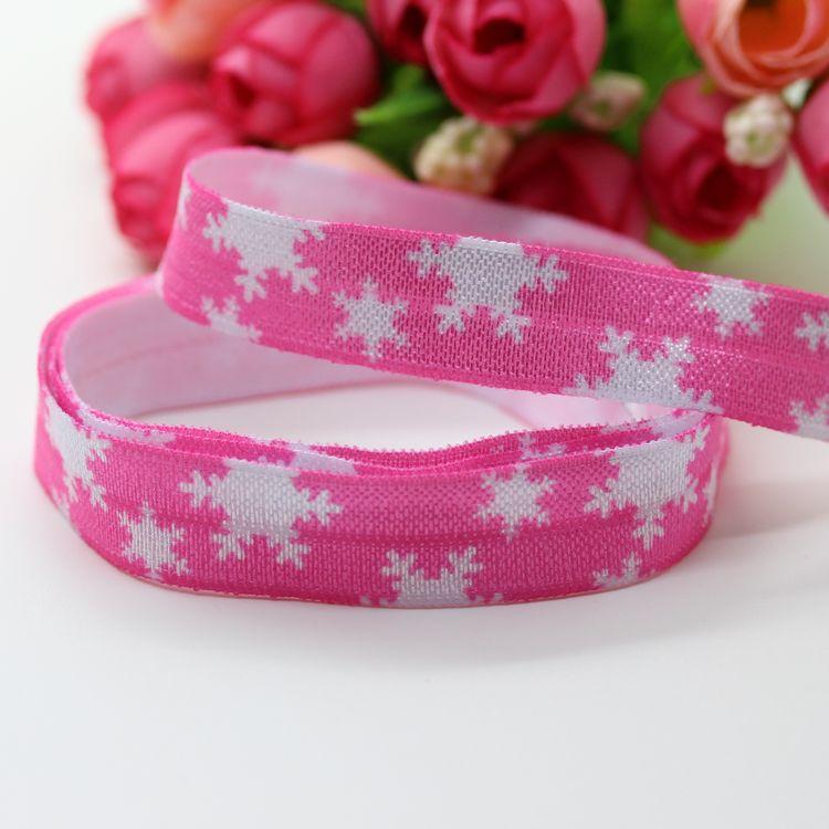 Pretty Pink Ribbon Pink Printed Ribbon