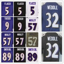 Cheap Men's stitched jerseys, Elite 5 Joe 9 Justin 32 Eric 57 Mosley 89 Smith Sr jerseys,Size M-XXXL(China (Mainland))