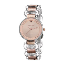WEIQIN New Brand Hollow Watches Women Rose Gold Analog Quartz Watch Fashion Dress Bracelet Girl Party Relogio Feminino Reloj