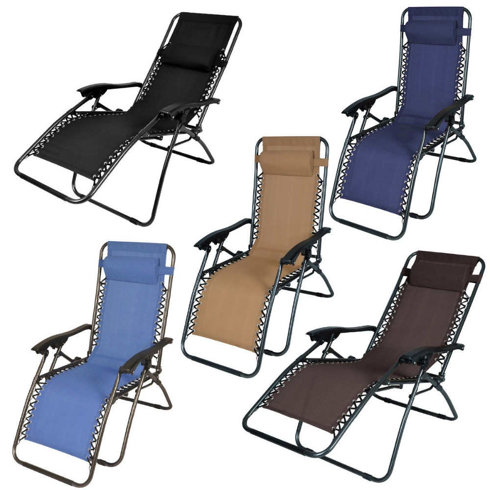 Folding Zero Gravity Reclining Lounge Chairs Outdoor Beach New(China (Mainland))