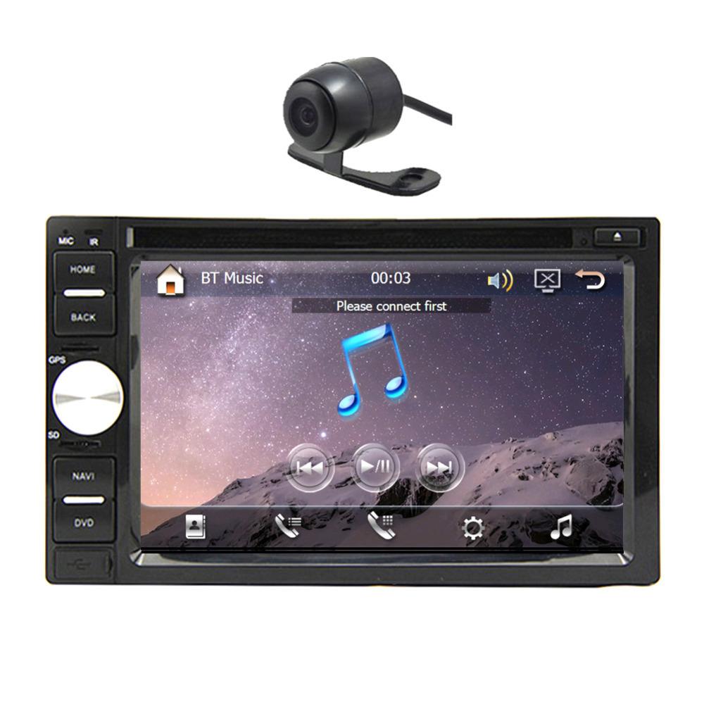 "Universal 6.2"" HD Double 2 Din GPS Navigation Car Stereo DVD CD MP3 player In Dash Car Audio Radio Video B luetooth iPod TV RDS(China (Mainland))"