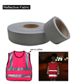 Industrial Washable Reflective Fabric Sew on Kinkds of Clothing free shipping