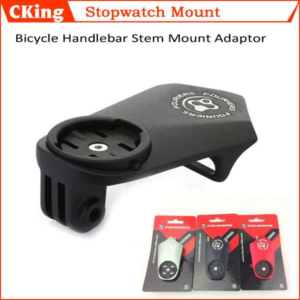 Ultralight Cycling Bicycle Stopwatch Handlebar Stem Mount Adaptor/Holder Bike Computer Holder GARMIN/GoPro - CKing-868 store