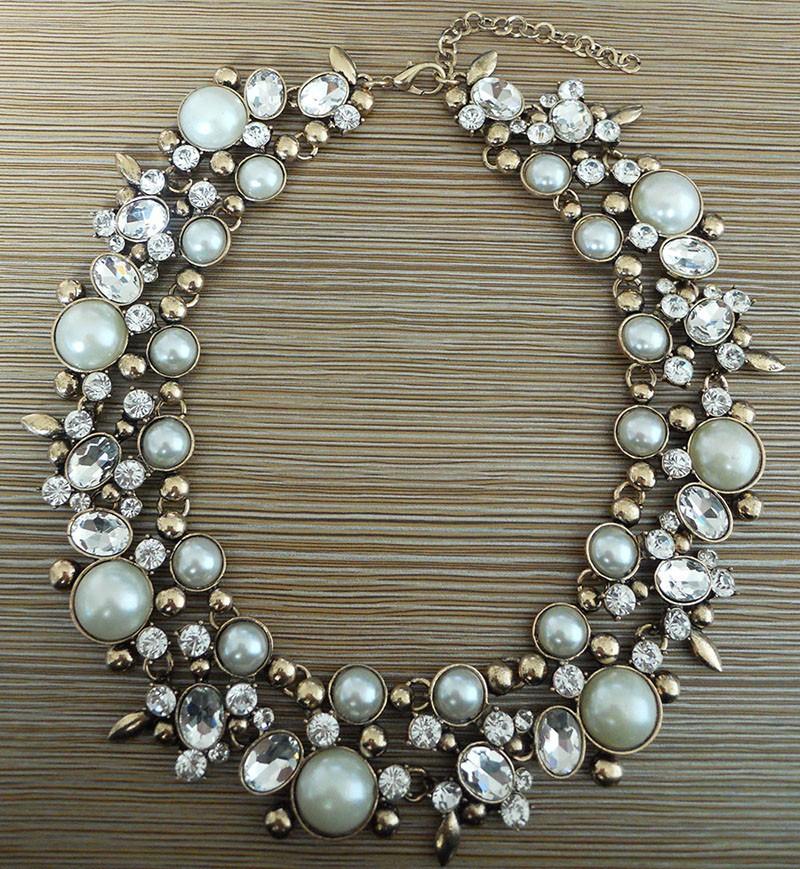 HTB178dSHFXXXXb9XVXXq6xXFXXXX - PPG&PGG2017 New Luxury Women Imitation Pearl Jewelry Crystal Statement Necklace Choker Collar Lady Fashion Accessories