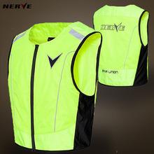 German NERVE reflective vest reflective vest riding motorcycle rider protectors for traffic safety vest(China (Mainland))