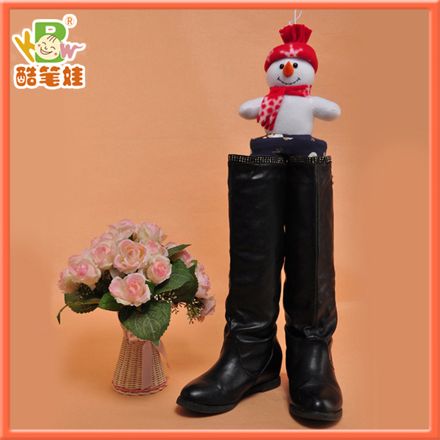 2014 Newest plush boots support soft plush boots tree adjustable boot stand