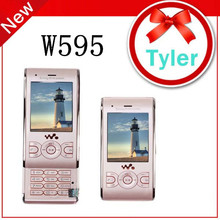W595 Original Unlocked ony Ericsson W595 mobile phone Quadband GSM 3G,Bluetooth,Free Shipping