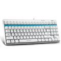 Rapoo V500 white USB Mechanical Gaming Keyboard for desktop laptop computer office gamer DOTA 2 FIFA