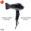 HTG 2300W powerful professional Hair Dryer Blow Dryer Hot with Cold shot EU Plug Hairdryer 110V