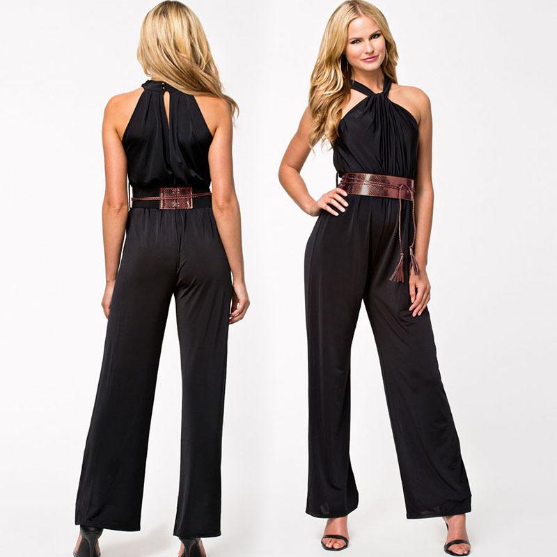 2016 fashion elegant overalls women jumpsuit high waist. Black Bedroom Furniture Sets. Home Design Ideas