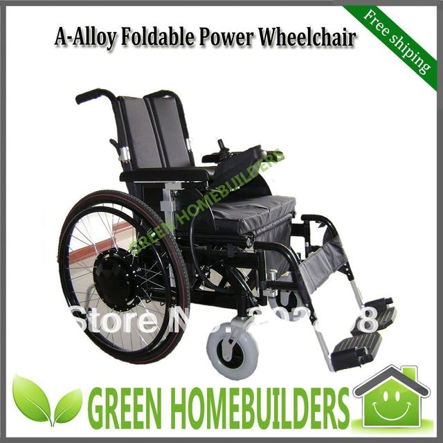 EMS free shipping , Factory Outlet , power & manual wheel chair for sale GH18A  Save 50% Battery Cost Each Year