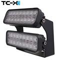 TC X Ultra Flood 108W Ajustable Angle LED Work Light Bar 12V 24V for Off Road