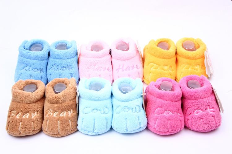New Kids Baby Toddler Unisex Boys Girls Cotton Soft Sole Skid-proof PreWalker(China (Mainland))