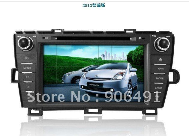 "7"" Car DVD Player GPS Navi Bluetooth Radio  for USA Spain, left hand drive  new  2012  Toyota Prius"