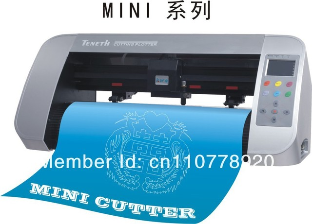 TENETH mini cutting plotter with artcut software free/desktop vinyl cutter TH330