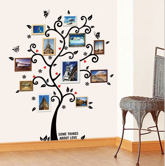 Medium 64in*49in PVC DIY HD Couples room wall photo on wall decoration souvenirs Children room plant life home decoration style(China (Mainland))