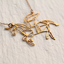 Charm Unicorn Pendant Necklace Unicorn horn Gold Plated Long Necklaces Jewelry For Man and Women YP2390