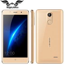 Original Leagoo M5 3G WCDMA Mobile Phone 5.0″ 1280×720 MT6580A Quad Core Android 6.0 2GB RAM 16GB ROM 8.0MP 2300mAh Fingerprint