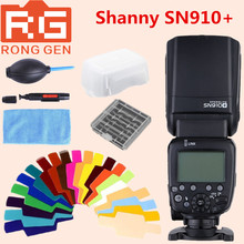 Buy Shanny SN910+ Master Flash i-TTL High Speed Sync 1/8000s GN60 Flashgun Speedlite Nikon DSLR Camera for $114.00 in AliExpress store