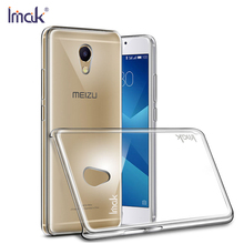 Buy IMAK Crystal Cover Meizu M5 Note Case Transparent Clear PC Hard Back Cover Meizu M3X Case Shockproof Protective Shell for $5.27 in AliExpress store
