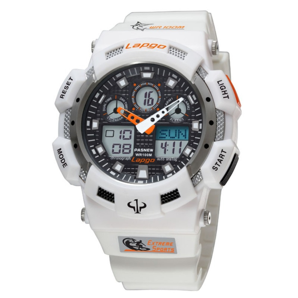 New PASNEW 1002AD Sport Watch Men's Watches Analog Digital Japanese Quartz Movement Waterpoff For Diving Boys Kids Promotion(China (Mainland))
