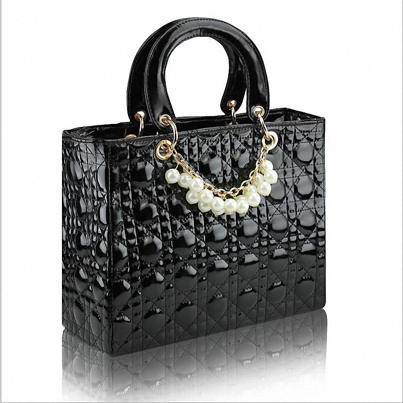 Discount !! 2013 new coming women's handbag plaid fashion bridal bag m