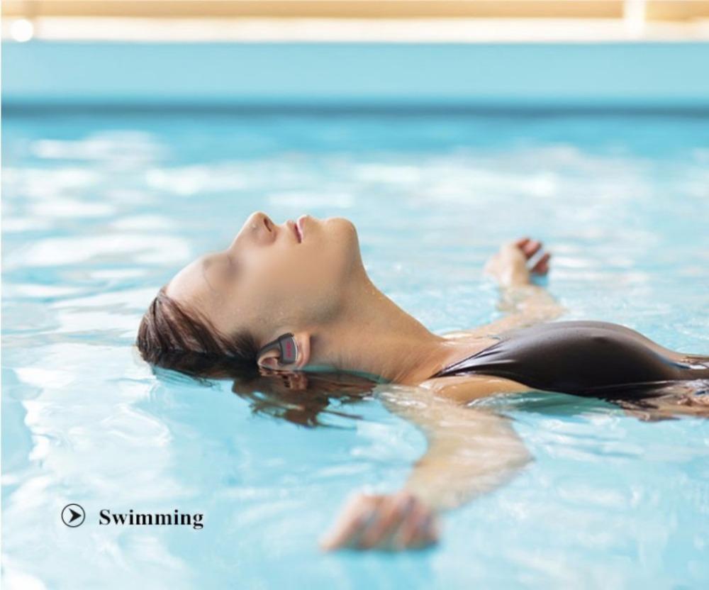 Dacom P10 Bluetooth Headset IPX7 Waterproof Wireless Sport Running Headphone Stereo Music Earphone Headsfree W/mic For Swimming