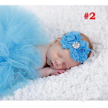 Princess Newborn Tutu and Vintage Headband Newborn Baby Photography Prop Birthday Sets For Baby Girls TS001(China (Mainland))