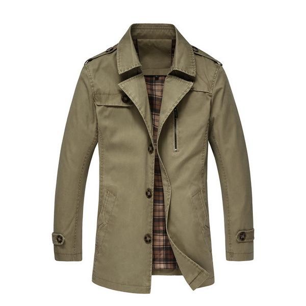 Мужской тренч Brand New 5XL Man Winfproof Coat