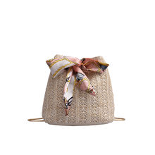 MOLAVE Сумки соломенные сумки для Women2019 Джокер Crossbody модные сумки одно плечо шнурок пельмени посылка строка bag430(China)
