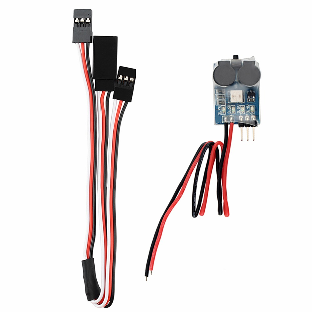 3 In 1 Battery Monitor & Discovery Buzzer & Signal Loss Alarm For Matek(China (Mainland))