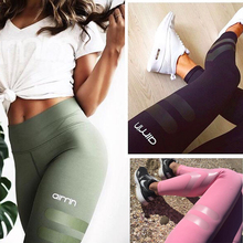 Buy 2017 Women's Fitness Leggings Quick Dry Skinny Pants High Waist Elastic Plus Size Leggins Female Workout Pants Trousers for $9.50 in AliExpress store