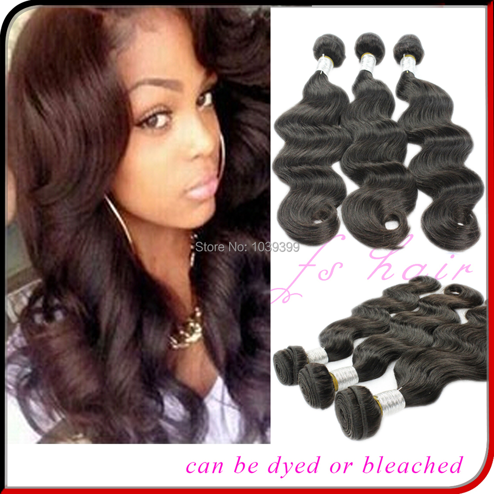 Brazilian virgin hair body wave 3pcs Rosa hair products 100% unprocessed virgin human hair weave Brazilian body wave(China (Mainland))