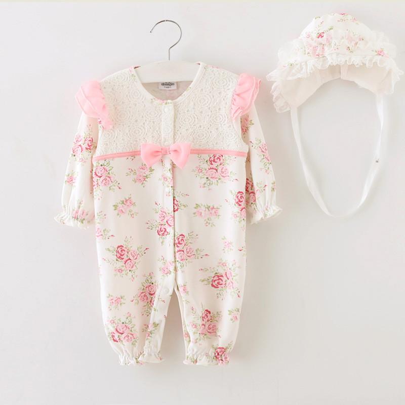 2015 Newborn Princess Style Baby Girl Clothes Kids