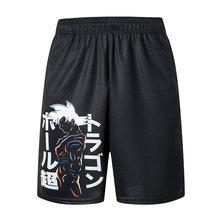 2019 New Dragon Ball Soltos Esporte Shorts Sweatpants Dos Homens de Basquete Verão Fresco Calças Curtas Venda Quente Sem cinto(China)