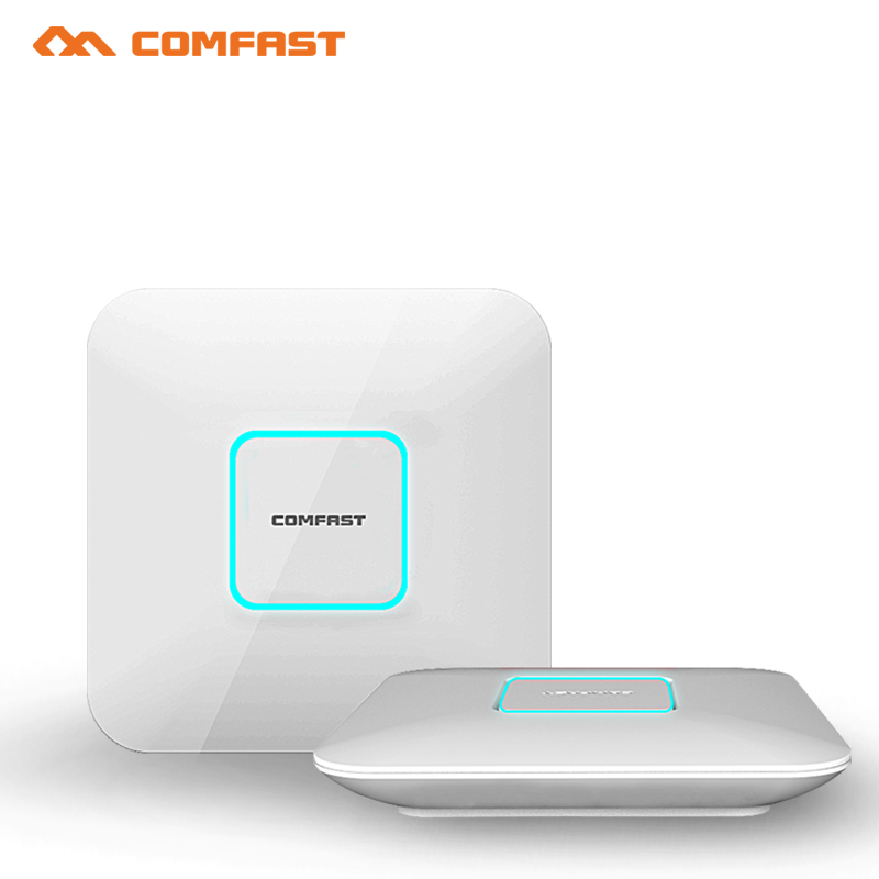 Comfast wireless indoor Ap 5.8G+2.4G 1750Mbps Gigabit WiFi Router OPENWRT 801.11AC Wi Fi Repeater Signal Amplifier Access Point(China (Mainland))