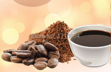 Imported now grinding depth black Coffee powder 454g baking Caramel mellow mellow heavy bitter oil rich