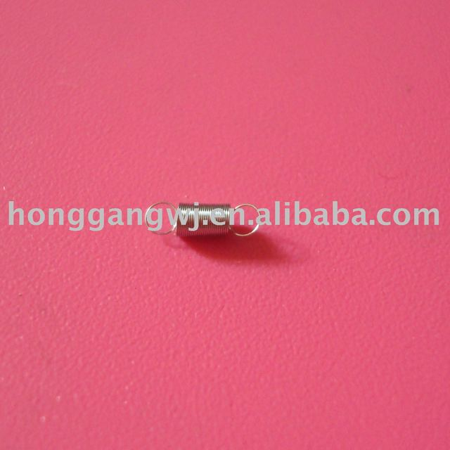0.1mm stailess steel precision extension spring