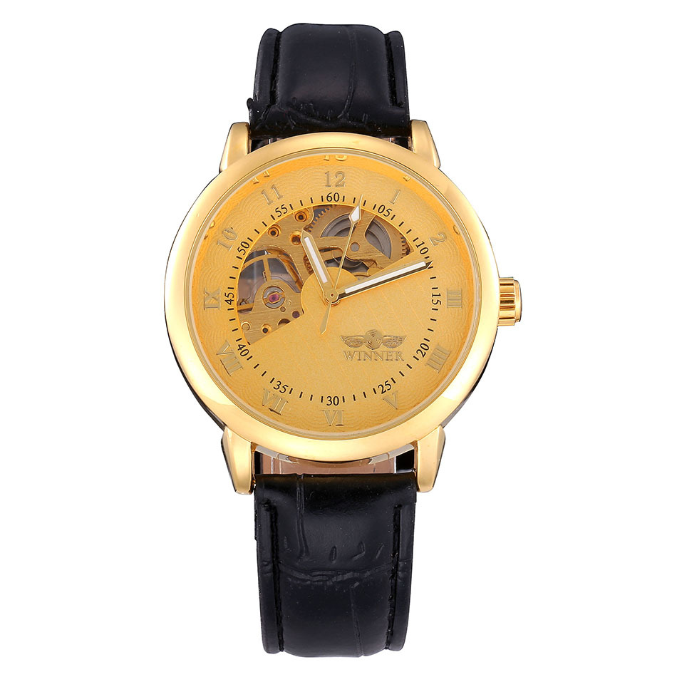 watches mens luxury brand leather mens casual