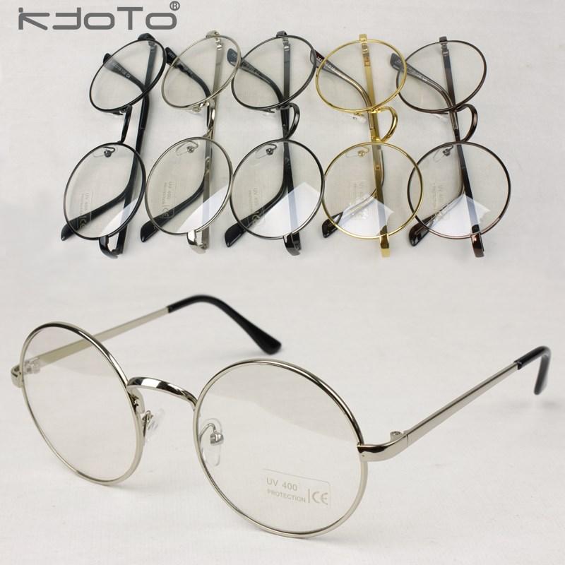 Glasses Frame Decoration : 2014 Vintage Metallic Circle Frame Glasses Male Women ...