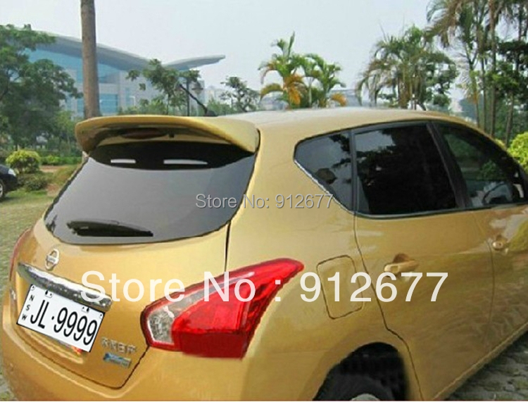 New arrival Car Spoiler ,ABS material rear spoiler for Nissan Tiida hatchback , car parts,accessories for Nissan Tidda 2011-2013<br><br>Aliexpress