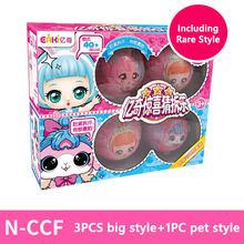 Eaki Genuine Origianl Surpresas LOL LOL Bonecas Princesa Boneca Com Caixa de Presente do Enigma Brinquedos Para Bebê Menina Surpresa LOL Bolas brinquedos do miúdo(China)